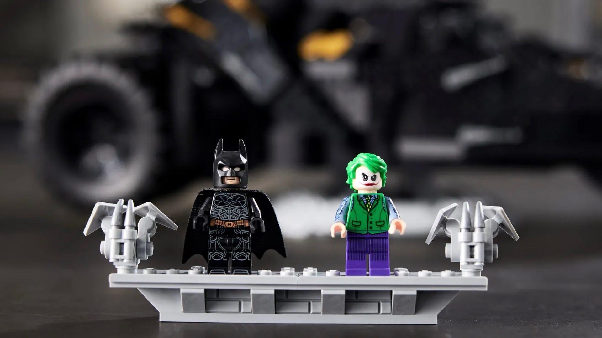 batman and joker LEGO
