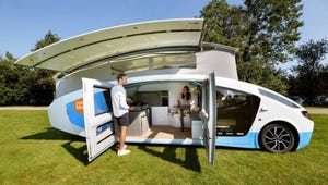 Stella Vita Is the World's First Fully Solar-Powered Camper