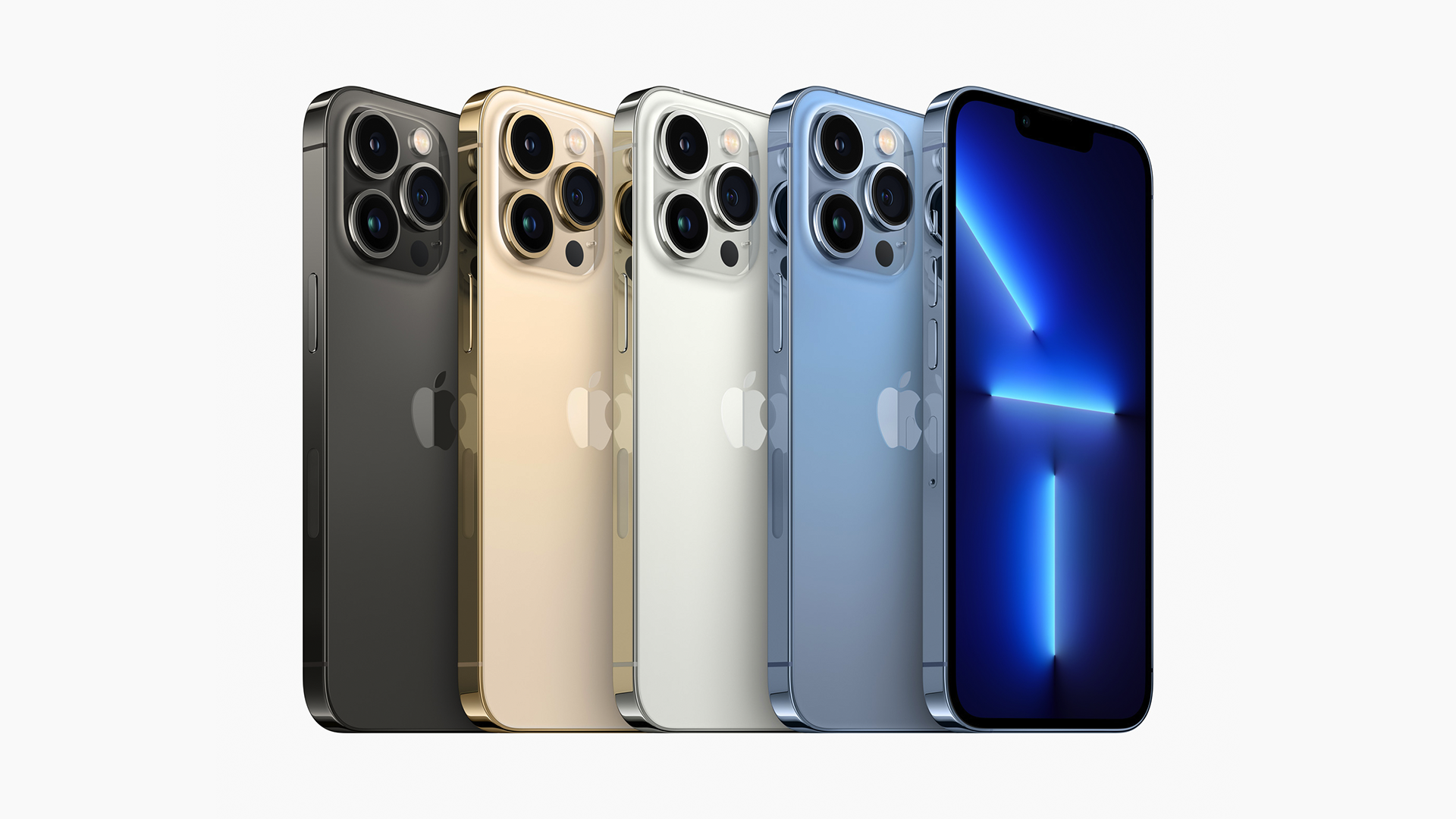 The full iPhone 13 Pro and Pro Max lineup.