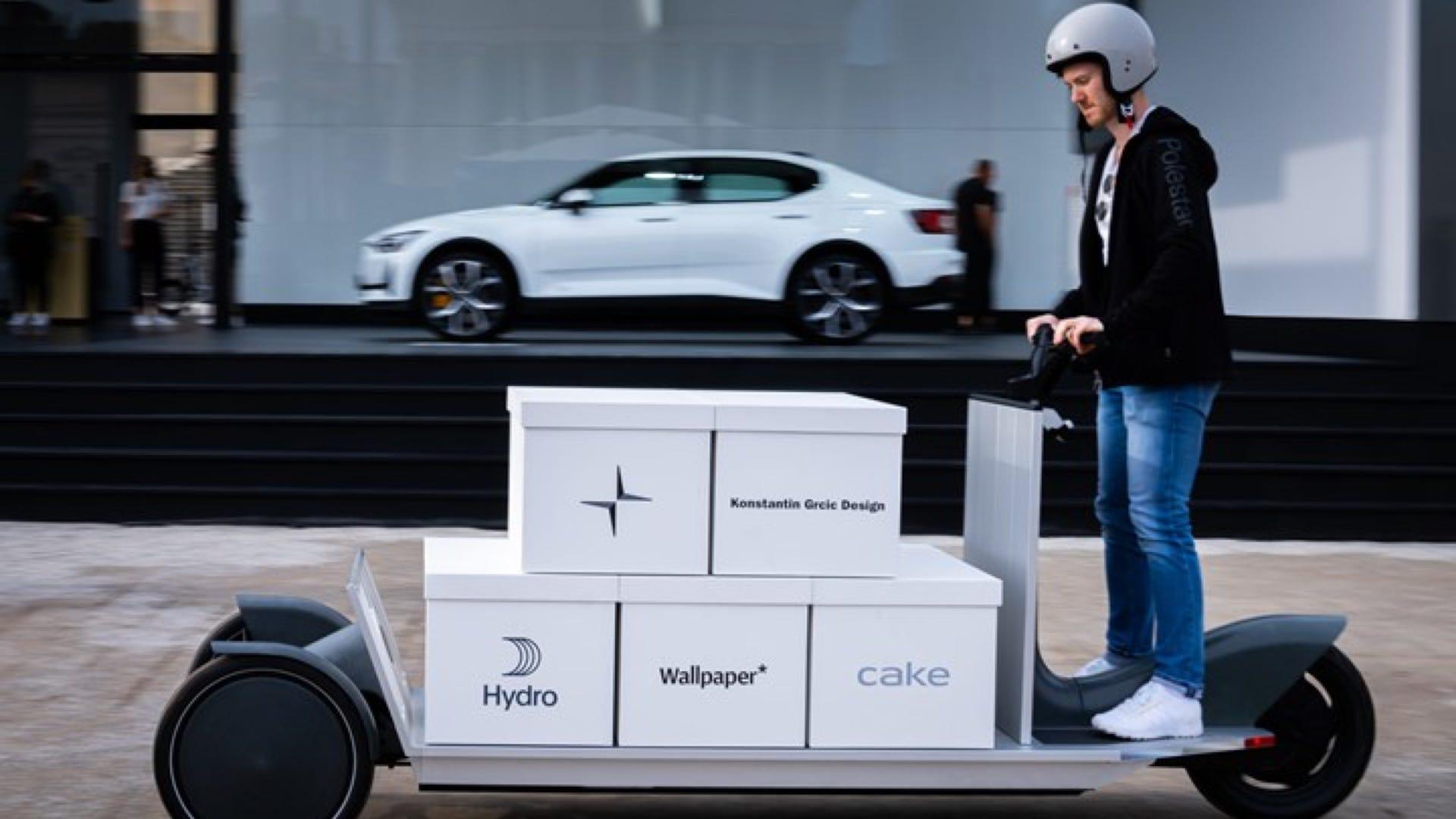 Polestar EV Cargo Delivery Sled