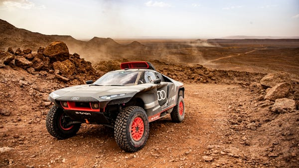 Audi Took Its E-Tron Hybrid to the Desert for the Ultimate Endurance Test