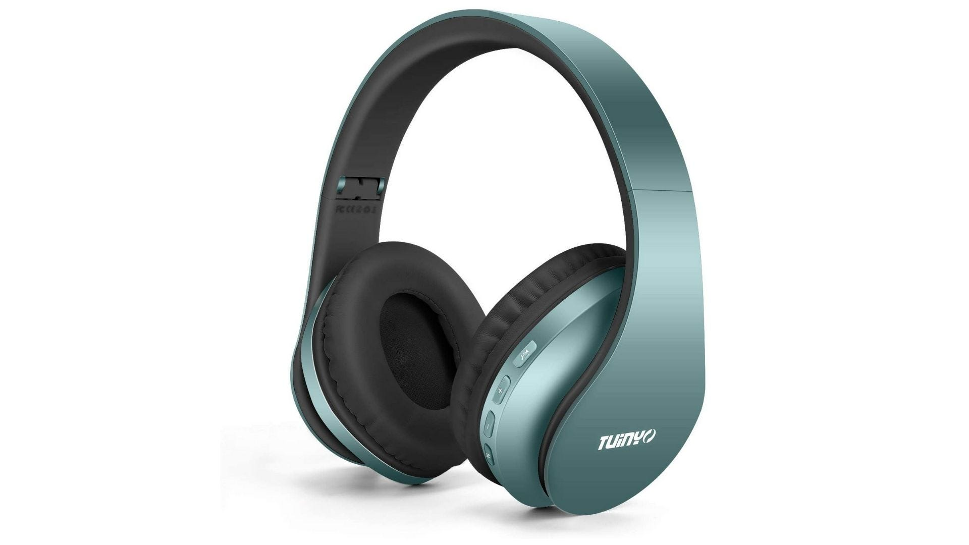 TUINYO Wireless Headphones Over Ear with Microphone