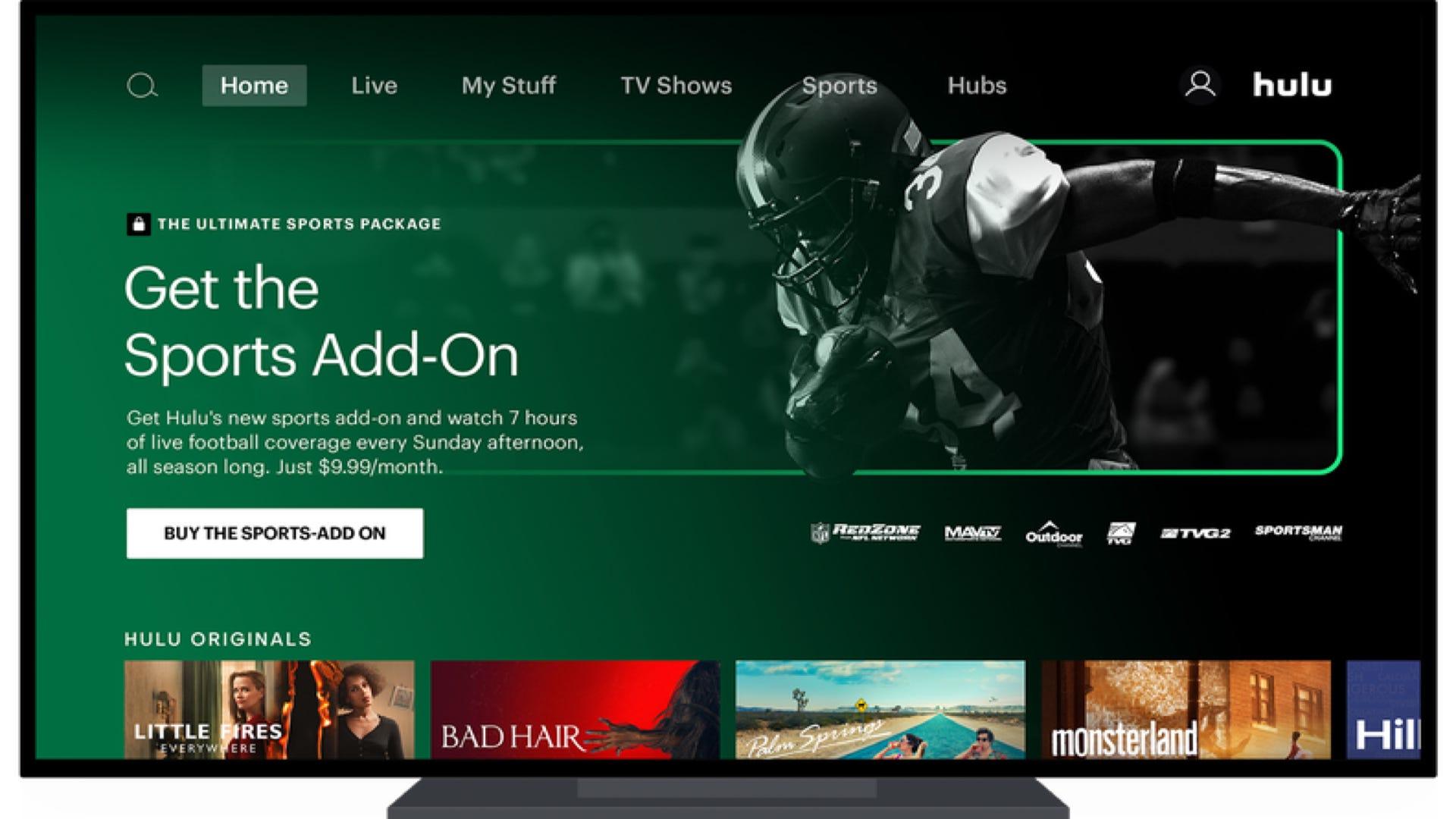Hulu + Live TV Sports