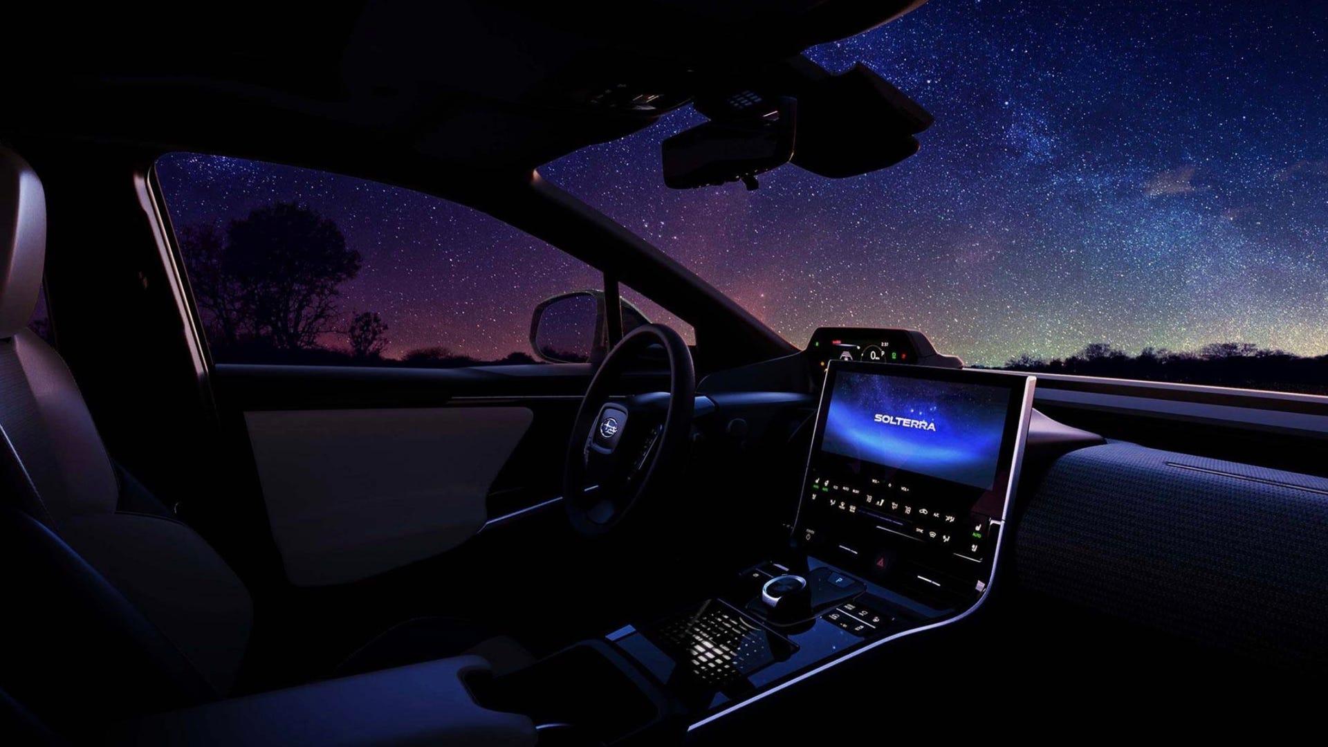 Subaru Solterra interior