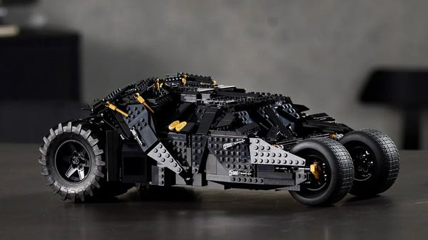 Pre-Order the LEGO Batmobile Tumbler Today and Become the Dark Knight
