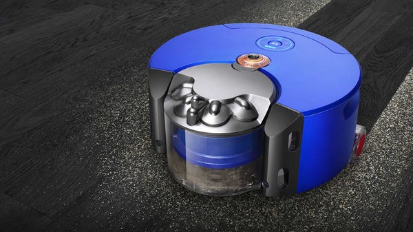 Dyson Aims to Fix The Biggest Issue With Robot Vacuums