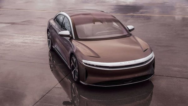 Outrageously Priced Lucid Air EV Gets Impressive 520 Mile EPA-Rated Range