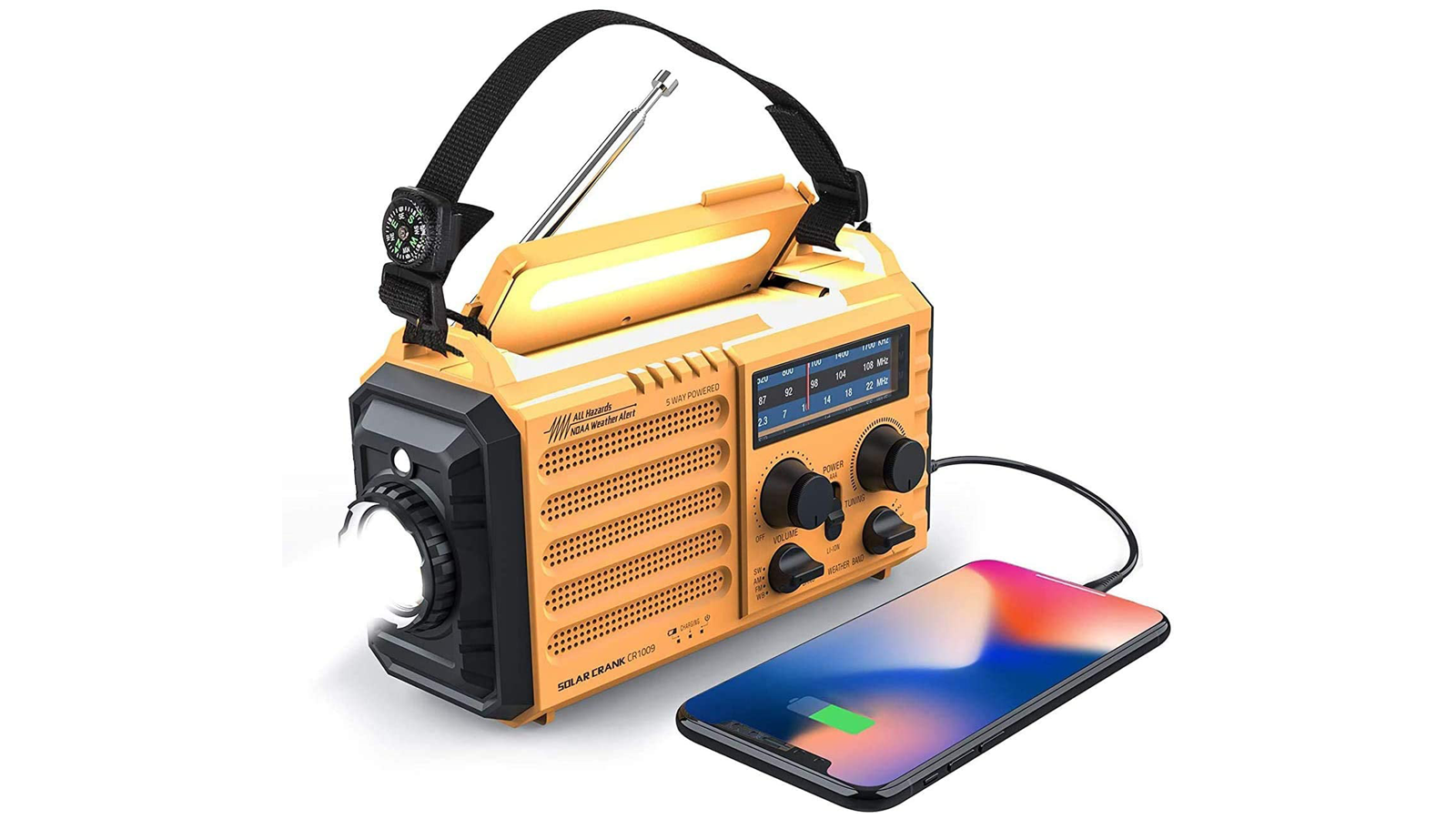 Stay Prepared for Storms and More with This Feature-Rich Weather Radio