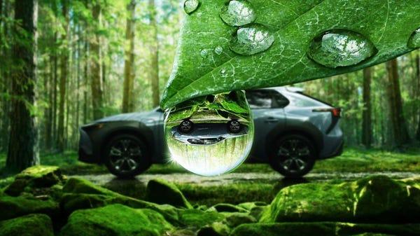 Subaru's First EV Doesn't Look Like a Subaru
