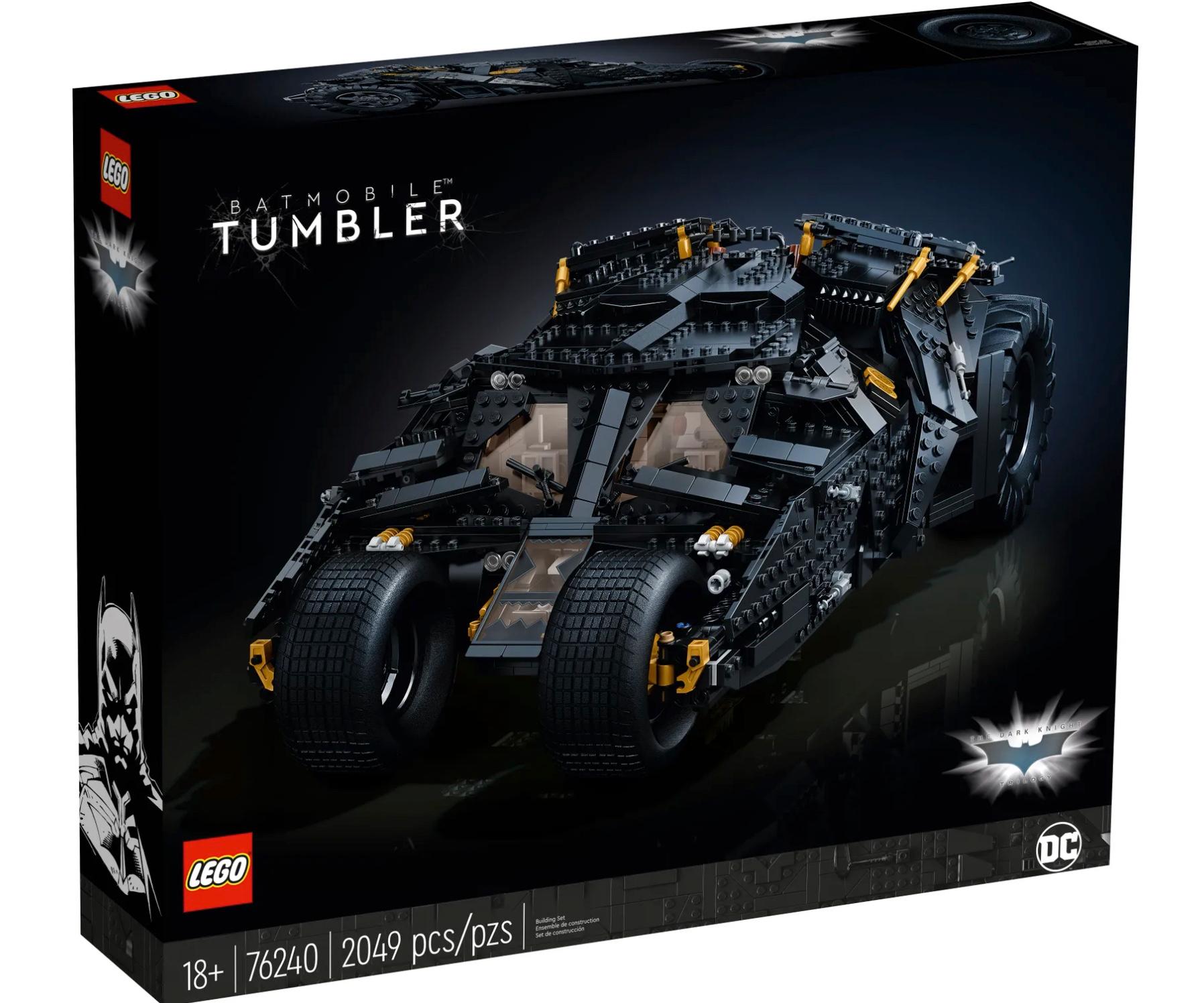 LEGO DC Batmobile Tumbler