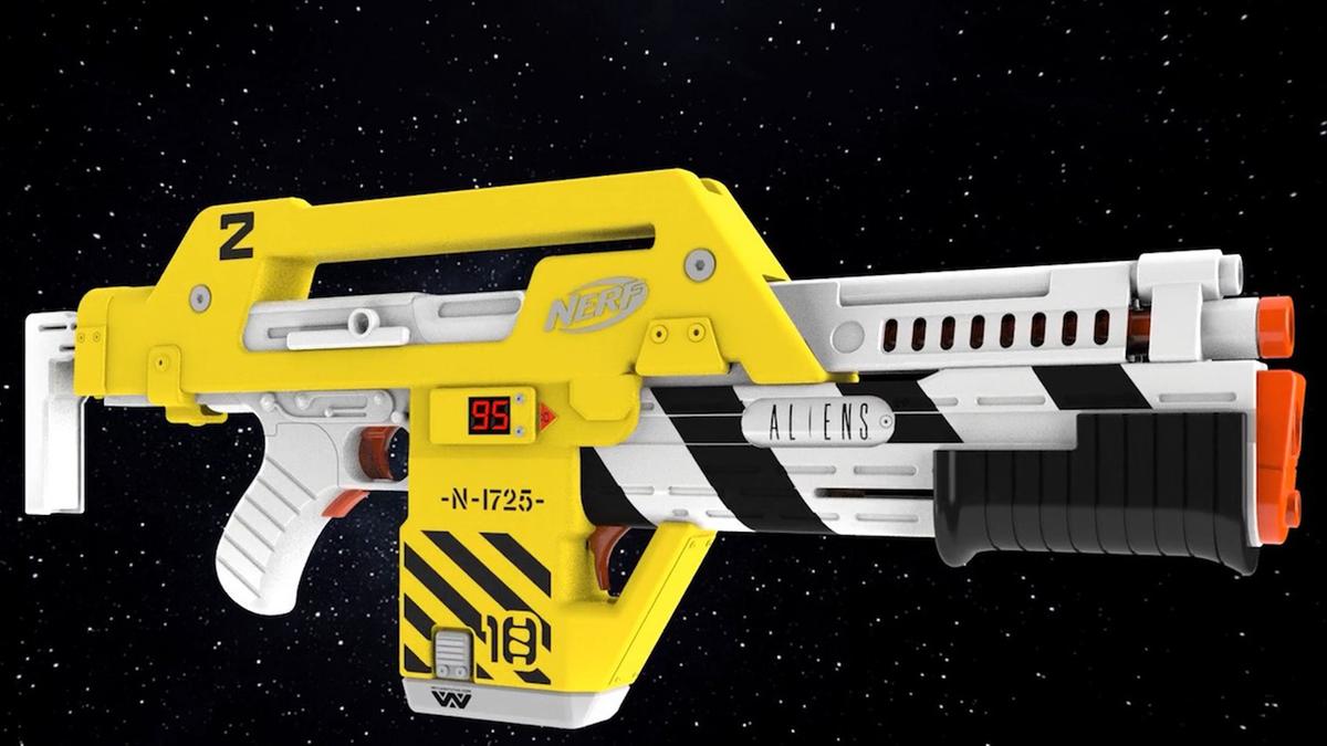 Nerf 'Aliens' M41A Pulse Blaster