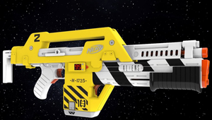Nerf's New 'Aliens'-Themed Pulse Blaster Is Ready to Battle the Xenomorphs