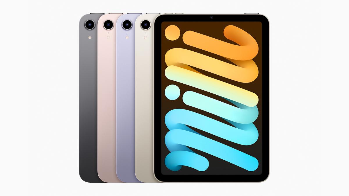 The new iPad Mini (2021 model).
