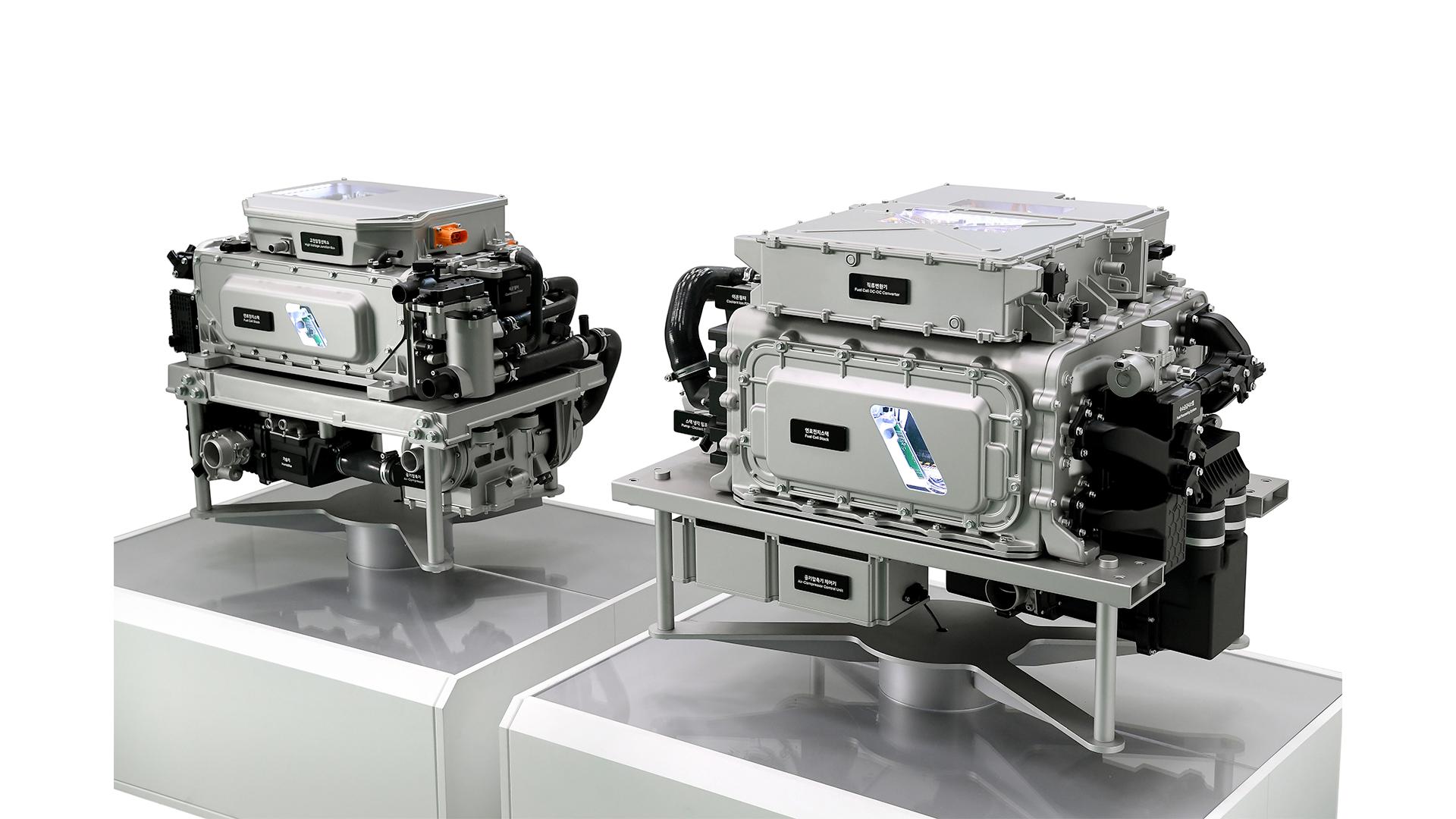 Hyundai third generation hydrogen fuel stack technology.