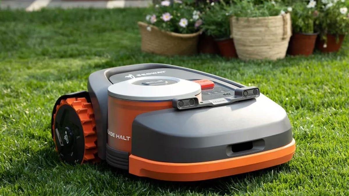 Segway robot lawnmower