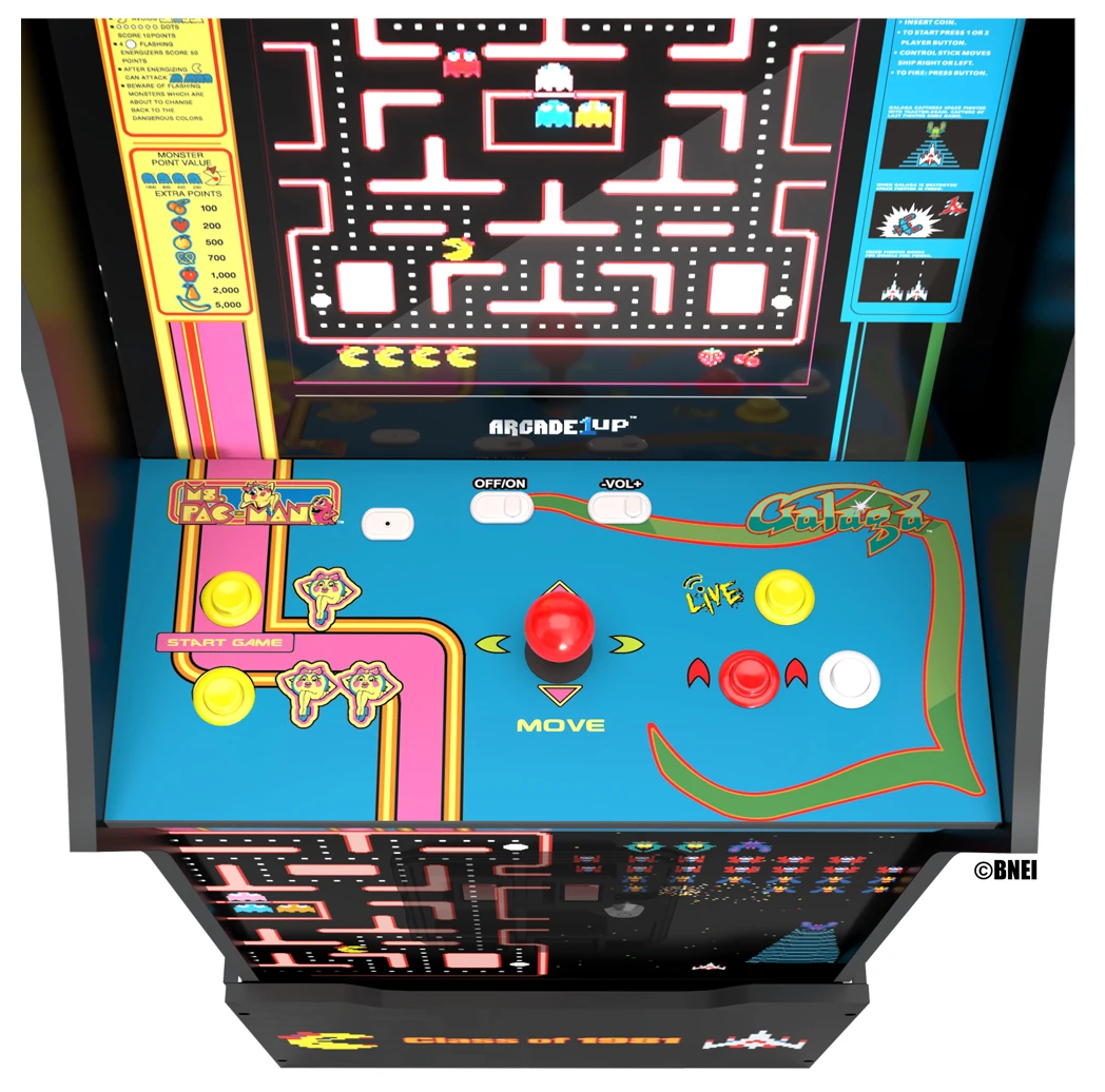 Ms. PAC-MAN / GALAGA Class of '81 Arcade Machine