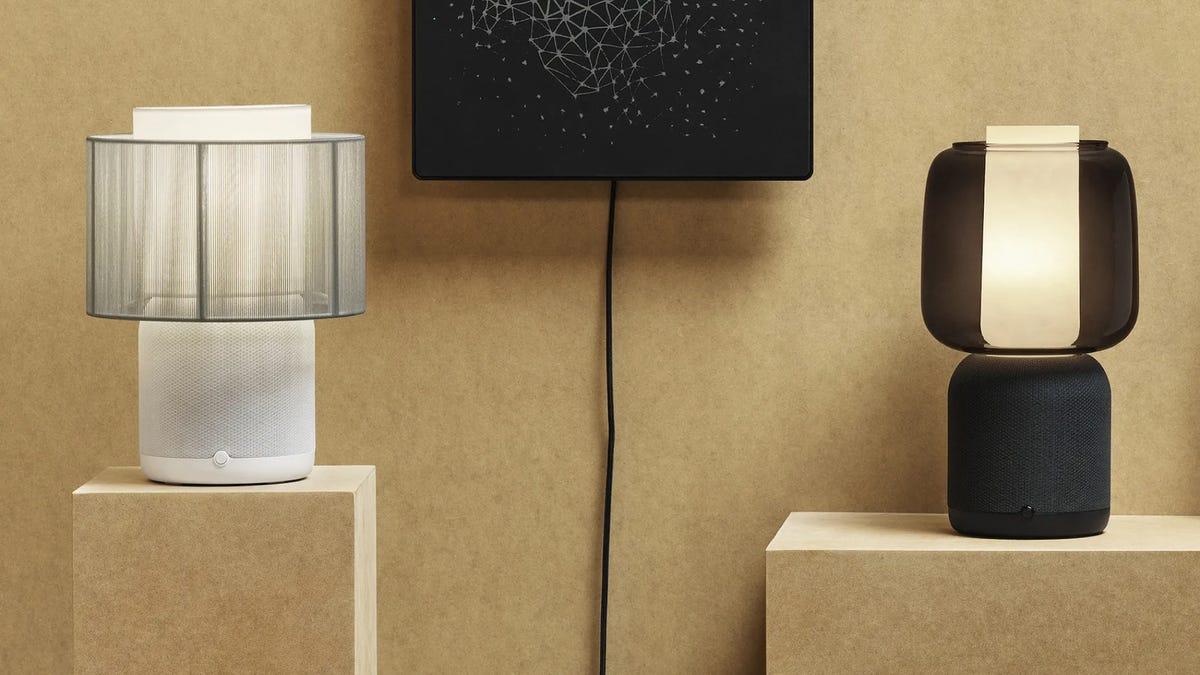 IKEA Sonos desk lamp speaker