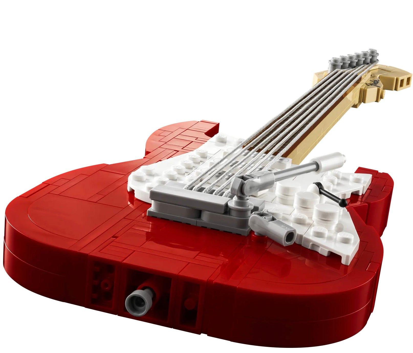 LEGO Ideas Fender Stratocaster Guitar Set