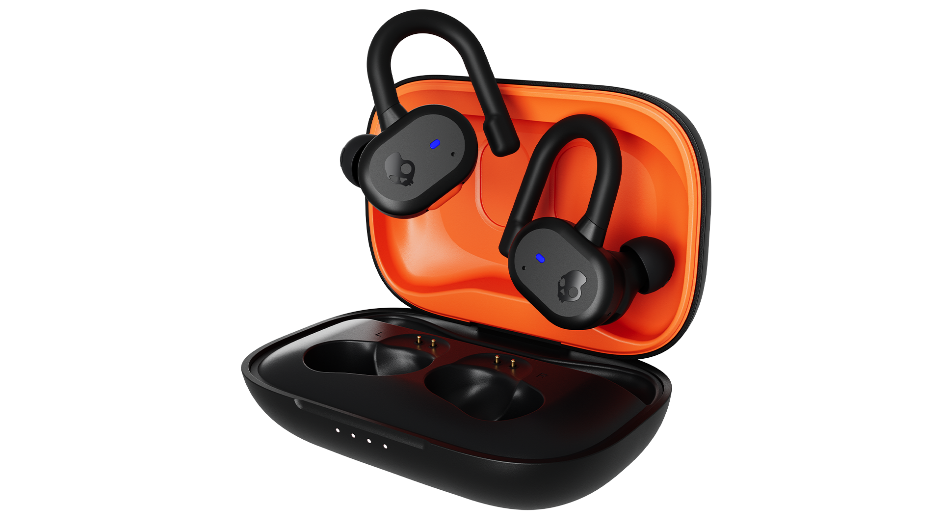 The Skullcandy Push Active sport earbuds.