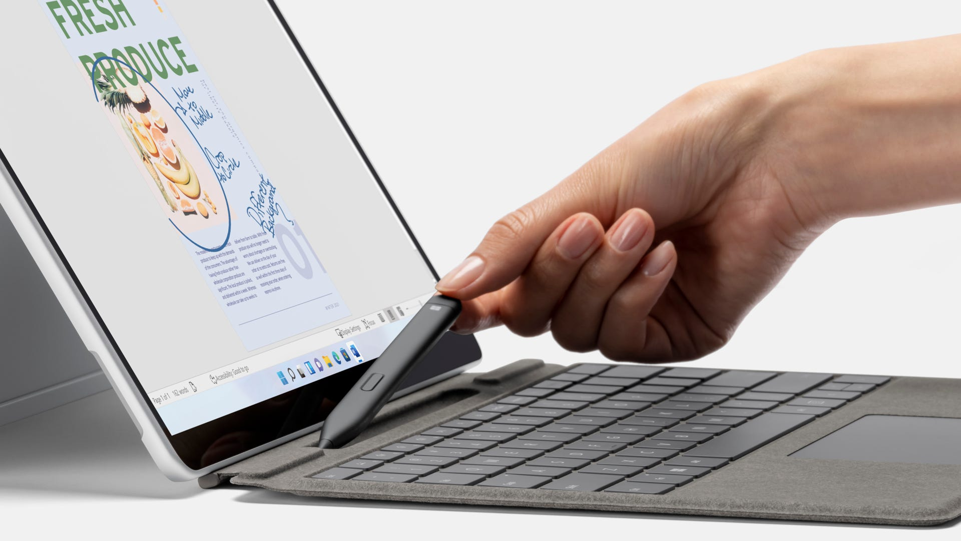 Surface Pro 8 with Slim Pen 2