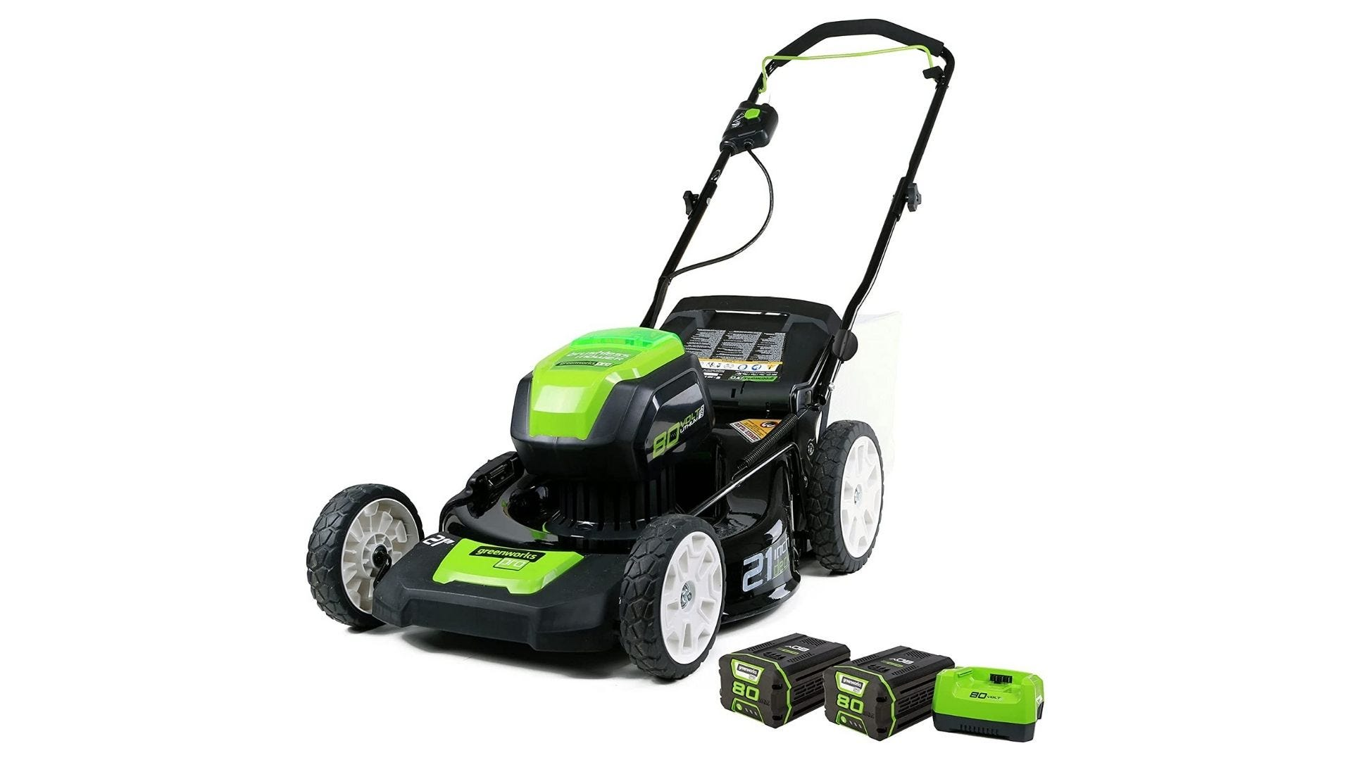Greenworks Pro 80V 21-Inch Brushless Cordless (3-In-1) Push Lawn Mower
