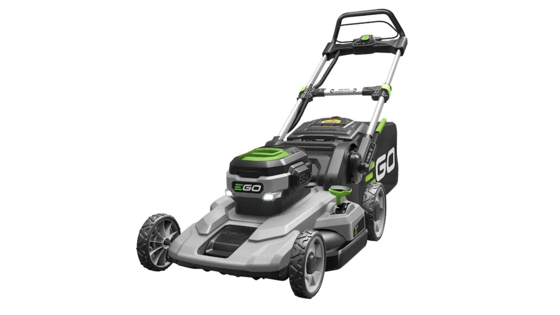 EGO POWER+ 56-Volt 21-in Push Cordless Electric Lawn Mower 5 Ah