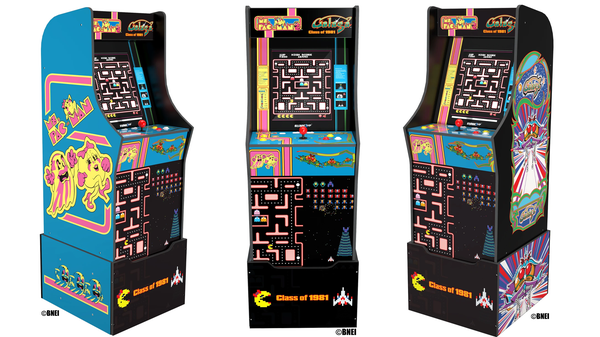 Arcade1Up Combined 'Ms. Pac-Man' and 'Galaga' for Its Latest Machine