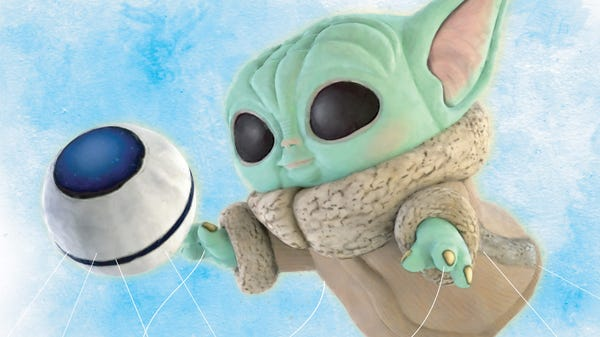 The World's Largest Baby Yoda Funko Pop Will Take Flight This Thanksgiving
