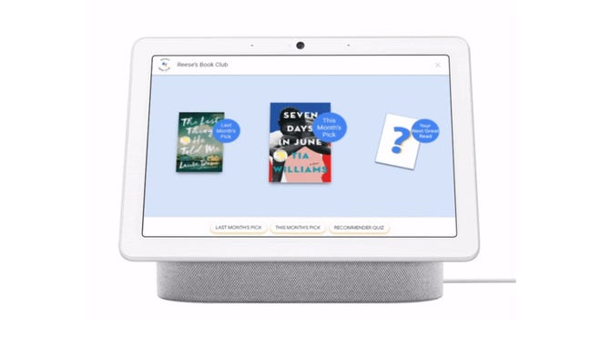 Google Assistant Teams Up With Reese Witherspoon's Book Club for Easy Reading
