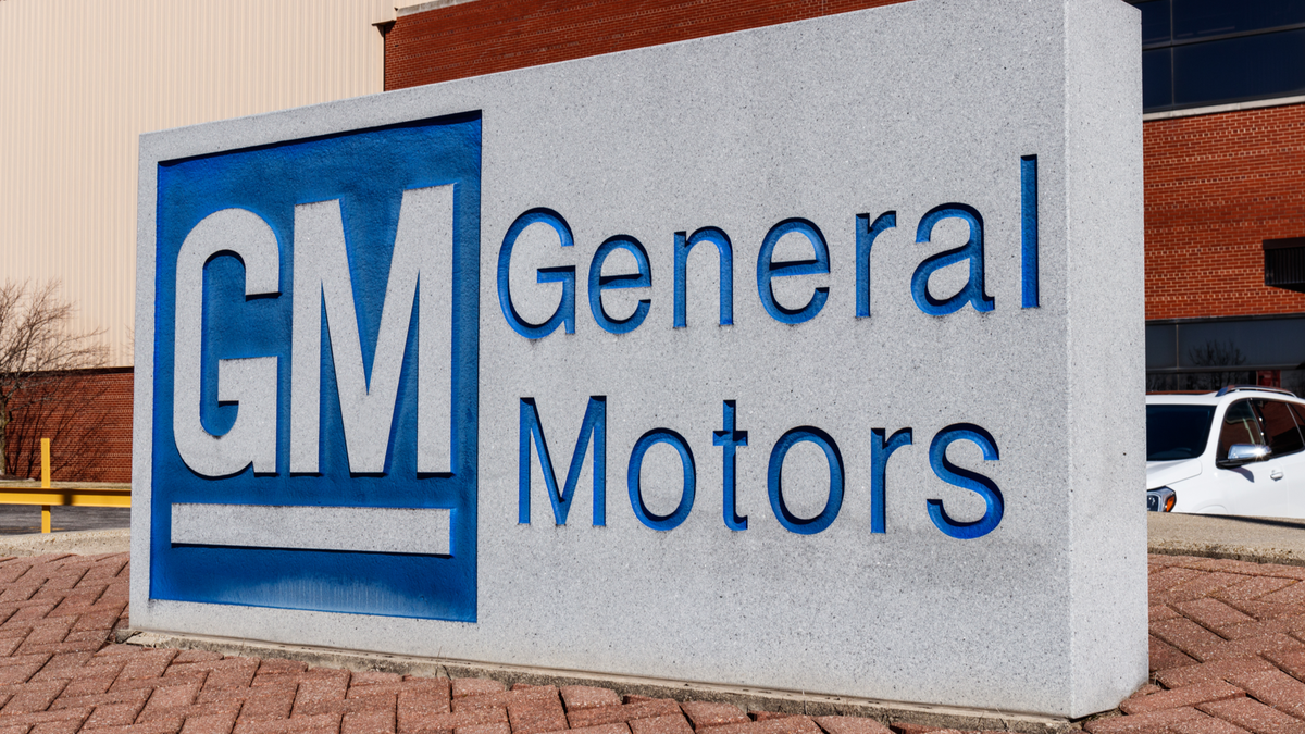 General Motors Logo and Signage at the Metal Fabricating Division