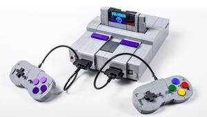 Watch as This LEGO Super Nintendo Console Transforms Into Robots