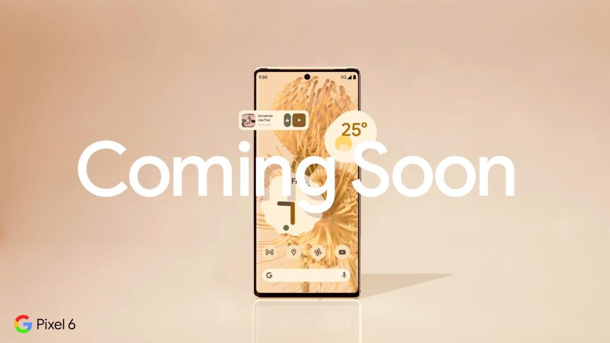 Google Pixel 6 release date teaser video