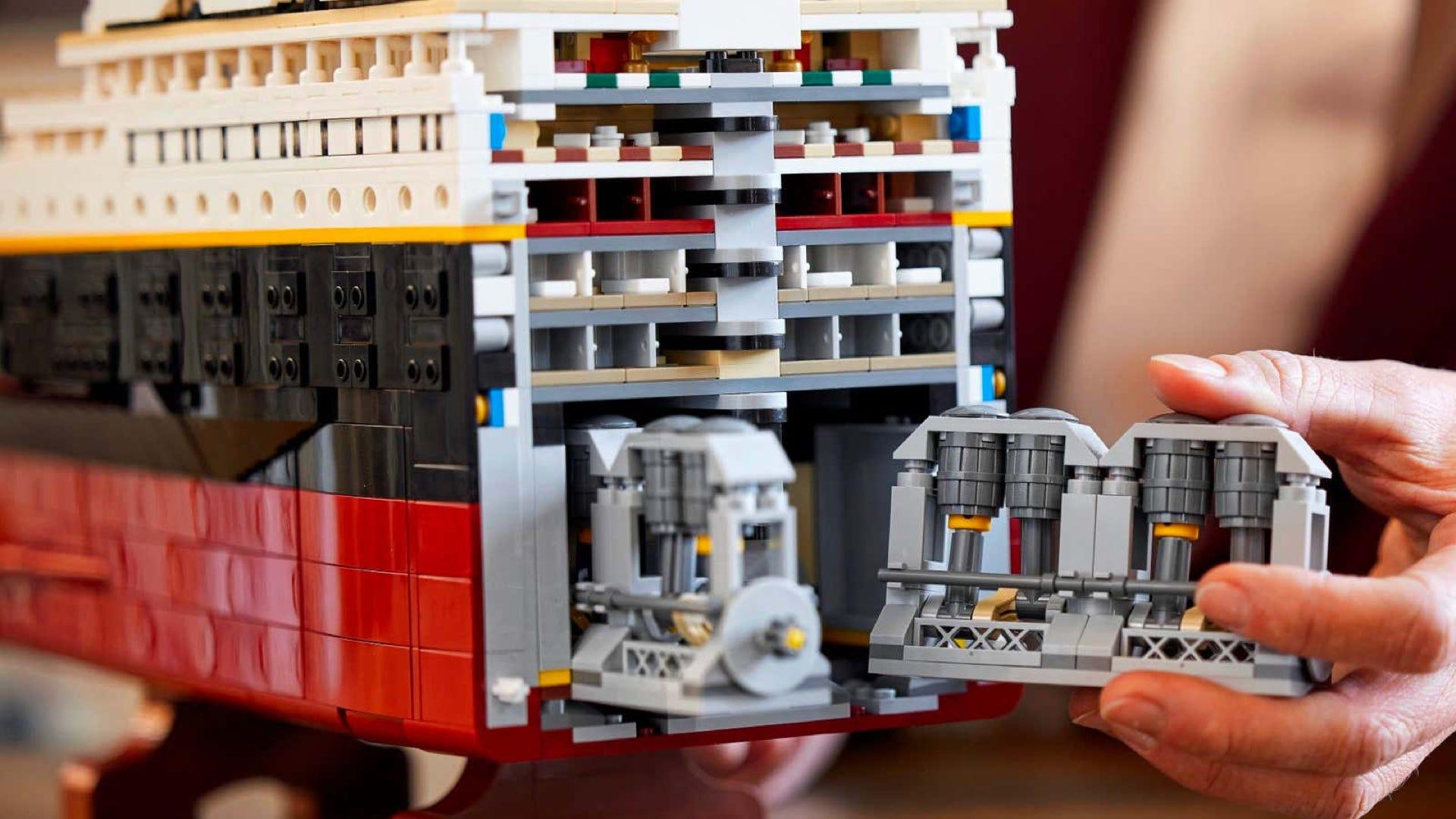 LEGO Titanic Boiler room