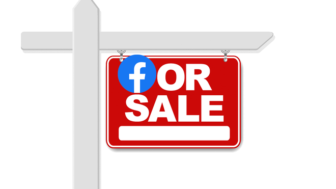 Facebook Is Down … and For Sale?