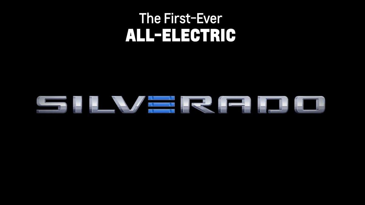 Silverado E announcement