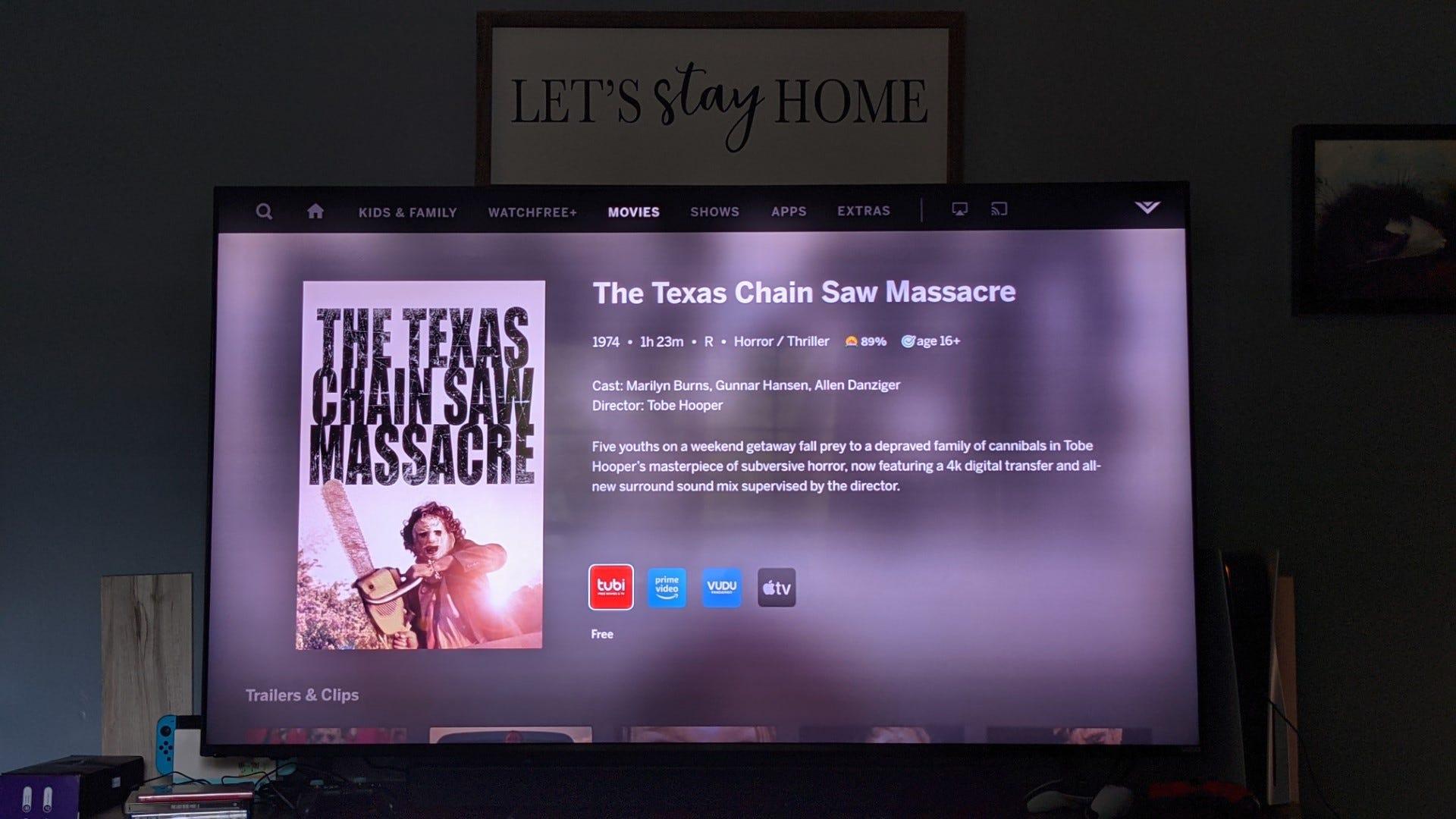 The Texas Chainsaw Massacre on Smartcast