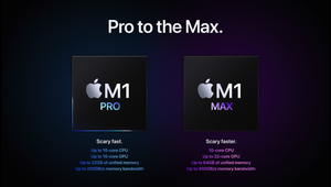 Apple's New M1 Pro and M1 Max Chips Make Intel Look Like Chopped Liver