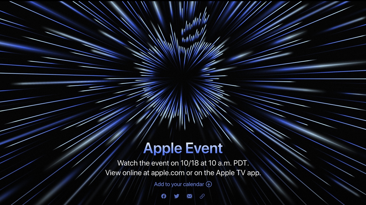 The Apple Unleashed streaming event banner.