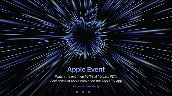 """Apple's """"Unleashed"""" Event Streams October 18th—M1X Macs Incoming?"""