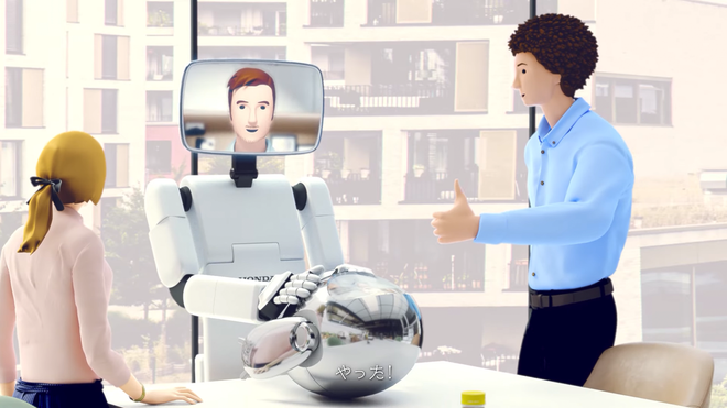 """Honda Shows Off Its """"Avatar Robot"""" Concept, and It's Hilarious"""