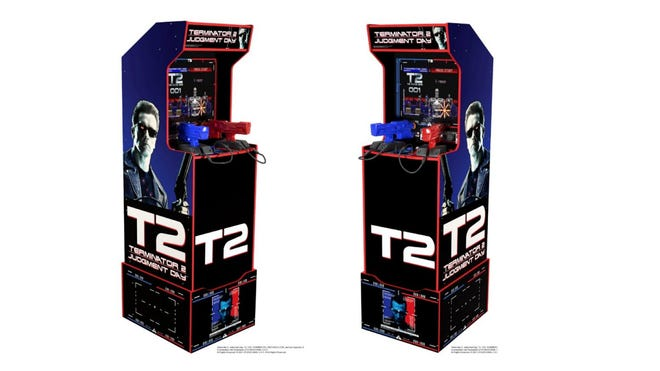 Arcade1Up Debuts Classic 'Terminator 2' Arcade Cabinet for Your Home