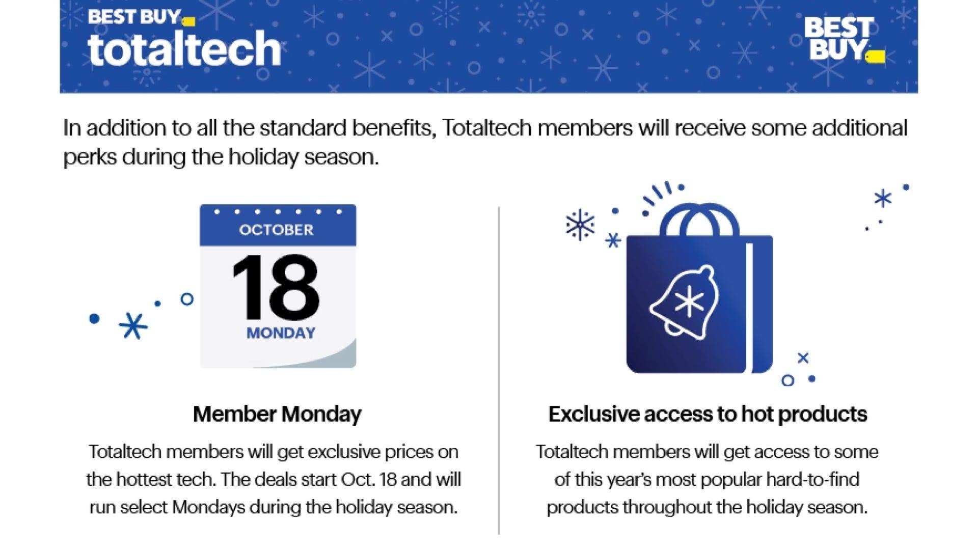 Best Buy Totaltech membership
