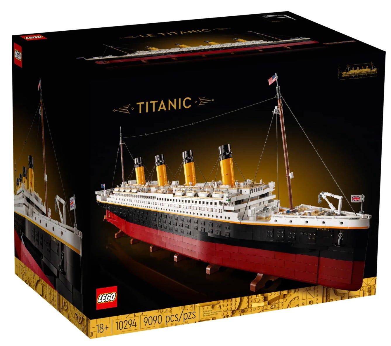 LEGO Titanic Replica