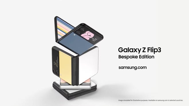 New Galaxy Z Flip 3 Bespoke Edition Lets You Design It Your Way