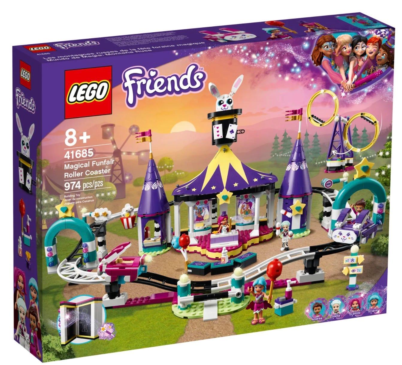 LEGO Magical Funfair Roller Coaster