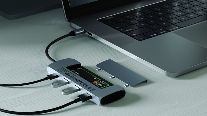 Satechi Stuck an SSD Enclosure in a USB-C Hub, and It's Glorious