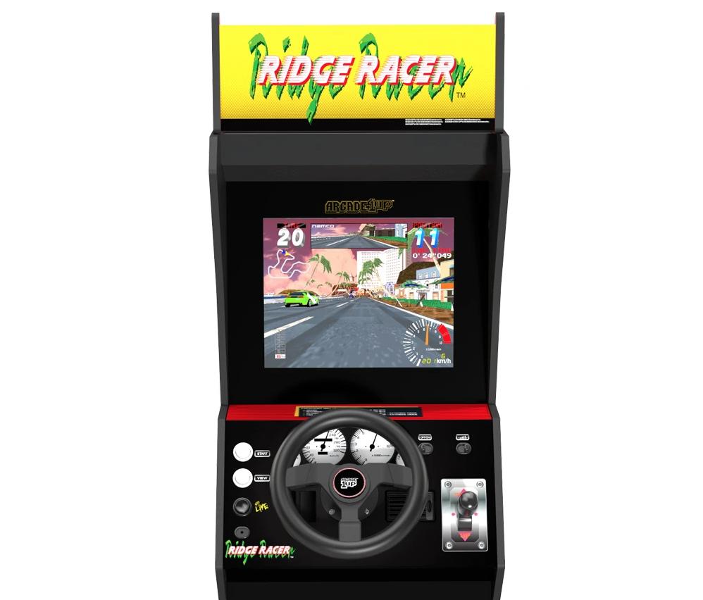 Arcade1Up Ridge Racer Cabinet