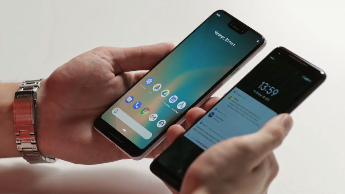 pixel, pixel phone, pixel 3 xl, leak, pixel leak, android, google