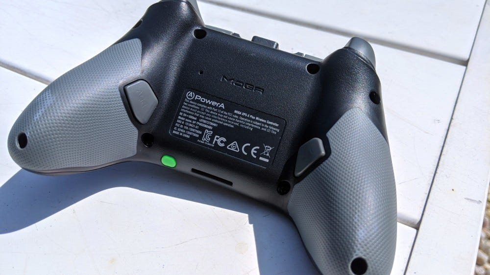 MOGA XP5-X Plus Back View