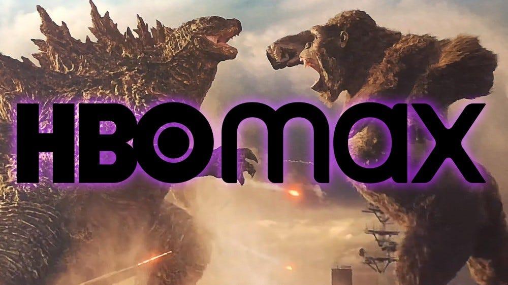 Godzilla vs kong hbo logo